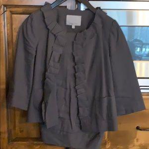 Classiques Entier gray linen suit